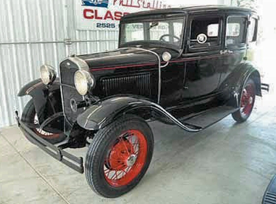 Photo of 1931 FORD 4DR TOWN SEDAN MURRAY BODY ORIGINAL MODEL A