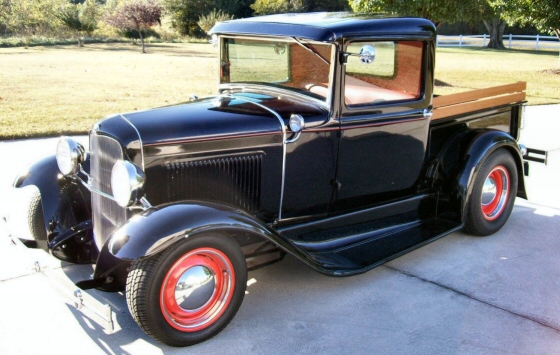 Photo of 1931 FORD PICKUP ALL STEEL STREET ROD NEW PRO BUILD