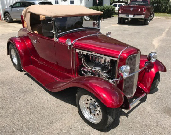 Photo of  1931 Ford Rumble Seat Roadster All Henry Ford Steel Supercharged Street Rod