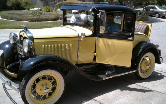 1931 Ford Rumble seat Coupe