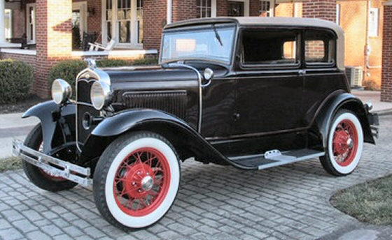 Photo of 1931 Ford Model A Victoria 2 DR Sedan Restored
