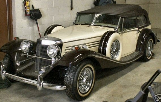 1931 MERCEDES  BARON REPLICA