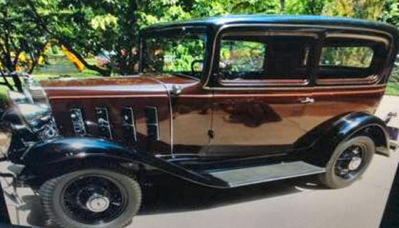 Photo of  1932 Chevrolet 2 DR Sedan Won 1ST Place at Hershey Car Show