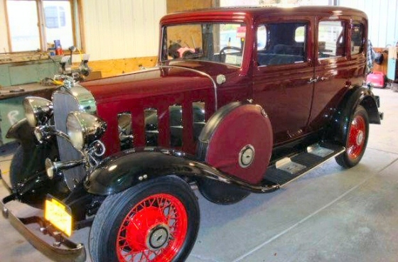 Photo of 1932 Chevy 4 Door Sedan Restored