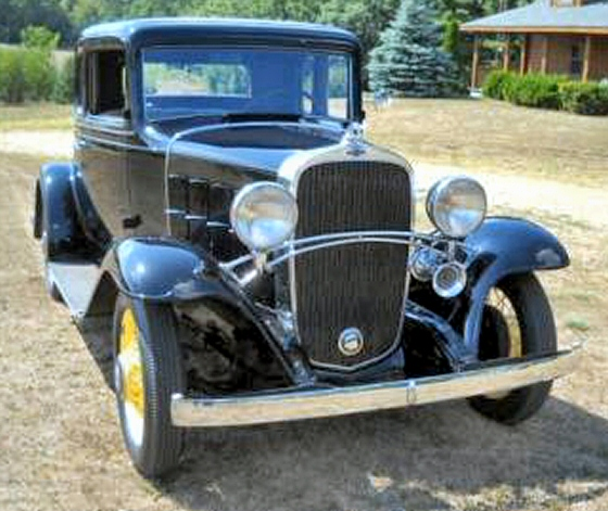 1932 CHEVY STEEL COUPE FACTORY STOCK