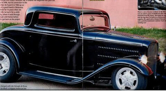 Photo of 1932 Ford 3 Window Coupe All Steel Chopped Street Rod