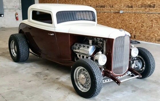Photo of 1932 Ford 3 Window Coupe Hi-Boy Street Rod With 331 HEMI Motor