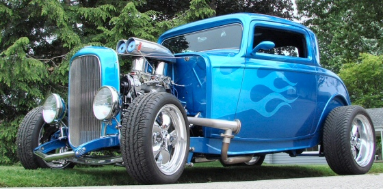 Photo of 1932 Ford 3 Window  Hi-Boy Coupe Street Rod