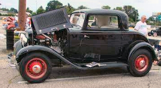 1932 ford 3 window coupe restored for 1932 ford three window coupe for sale