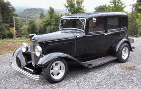 1932 ford 4 door sedan all steel street rod for 1932 ford four door
