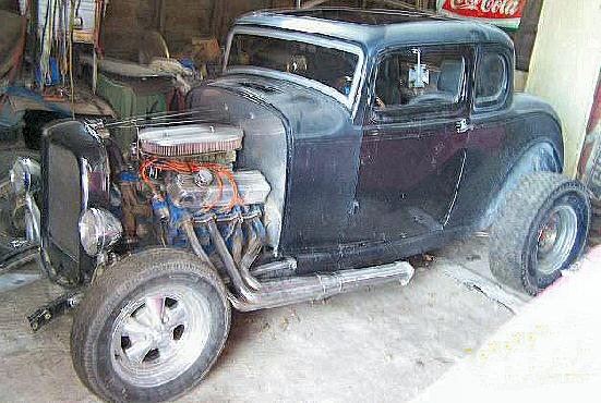 1932 5 Window Coupe Street Rod Highboy