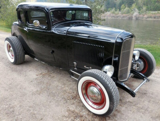 Photo of 1932 Ford 5 Window Coupe All Steel Street Rod