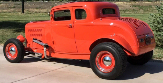 Photo of 1932 Ford 5 Window Coupe All Steel Chopped  Hi-Boy  Street Rod