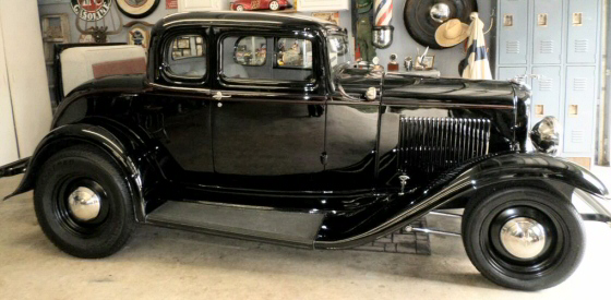 Photo of 1932 Ford 5 Window Coupe All Steel Chopped Street Rod