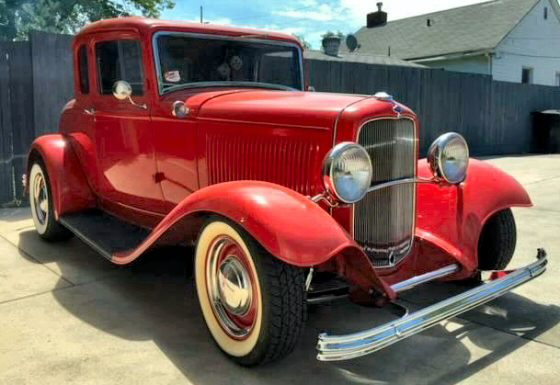 Photo of  1932 Ford 5 Window Deuce Coupe All Steel Street Rod