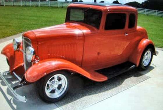 Photo of 1932 Ford 5 window Coupe Steel Street Rod