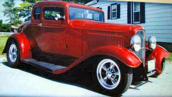 Steel 5 Window Coupe For Sale 1932 Ford 5 Window Coupe
