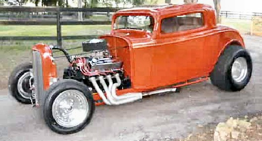 1932 FORD COUPE PRO STREET