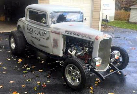 Photo of 1932 Ford Coupe Street Rod By  East Coast Rod Shop