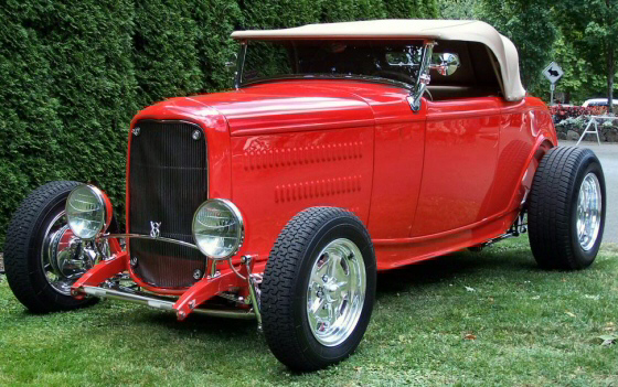 Photo of 1932 Ford Roadster Street Rod With Show Me Fiberglass Body