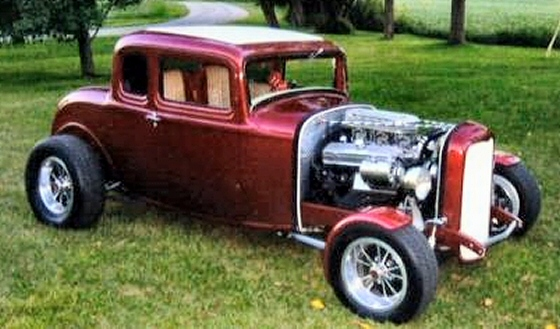 Photo of 1932 FORD LIL DEUCE COUPE OLD SCHOOL HOT ROD