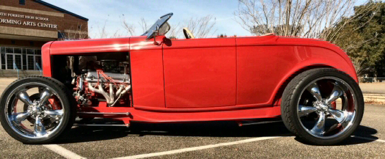 Photo of 1932 Ford Roadster Fiberglass Chopped Street Rod