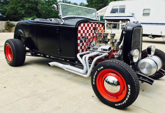 Photo of 1932 Ford Roadster Street Rod Replica