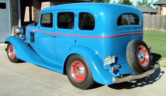 Photo of 1933 Chevy 4 Door Sedan Street Rod