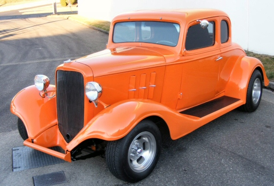 Photo of 1933 Chevy 5-Window Coupe  Old School '60s Hot Rod