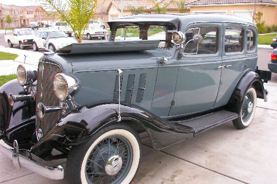 1933 CHEVY MASTER EAGLE
