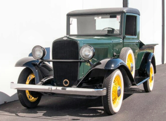 "1933 Chevy CB ""Produce"" Pickup Truck Restored For Sale"