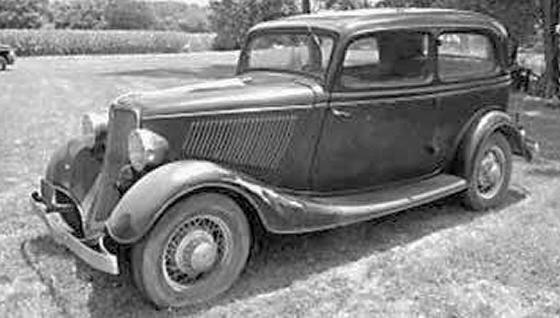 1933 FORD BARN FIND BONE STOCK UNRESTORED