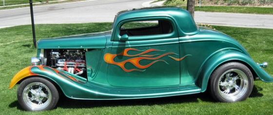 Photo of 1933 Ford Coupe Street Rod With  Heritage Body and Frame