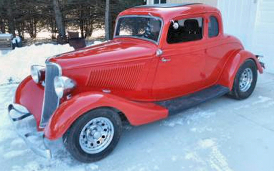 1933 ford 5 window coupe street rod with steel body for 1933 ford 5 window coupe