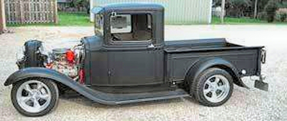 1933 Ford Pick Up All Steel Rod