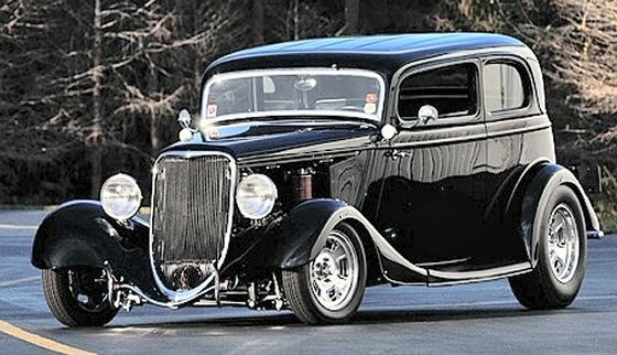 1933 Ford Vicky Victoria Street Rod