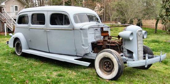 1934 Cadillac LaSalle Limo/hearse/ambulance