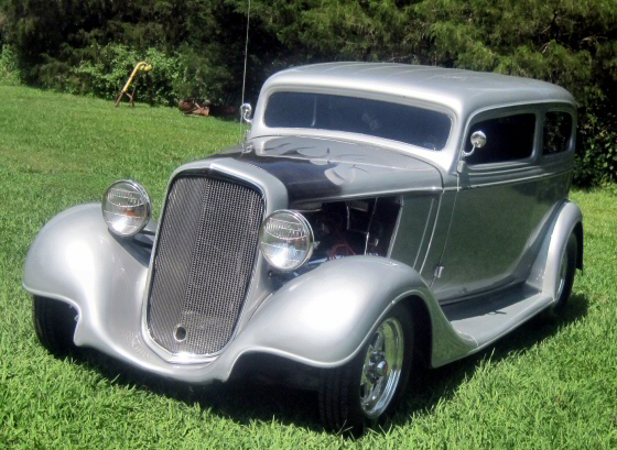 Photo of 1934 Chevy 2 DR Sedan Street Rod With 454
