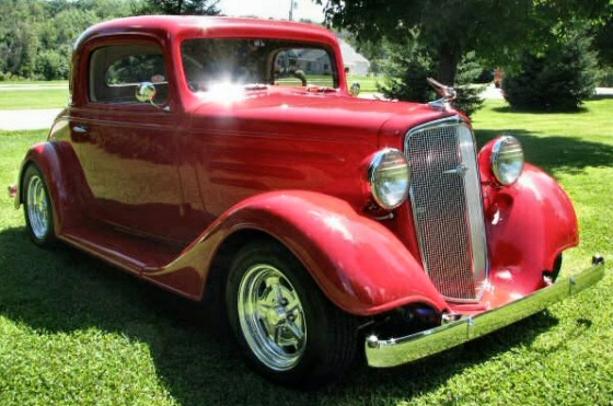 1934 chevrolet 3 window all steel coupe street rod with 502 for 1934 chevrolet 3 window coupe