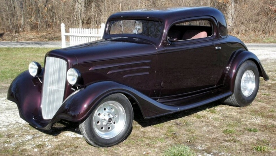 1934 chevy 3 window coupe chopped street rod for 1934 chevrolet 3 window coupe
