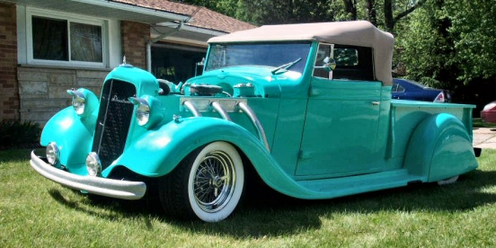 1934 Chevy Roadster Pickup Custom