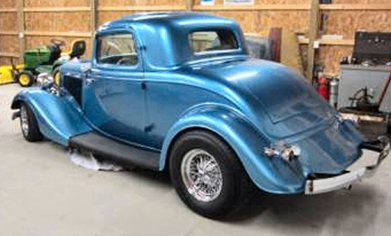 1934 ford rare steel body 3 window coupe street rod for 1934 ford 3 window coupe steel body