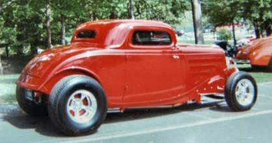 Photo of 1934 FORD GIBBONS 3 WINDOW COUPE ROD