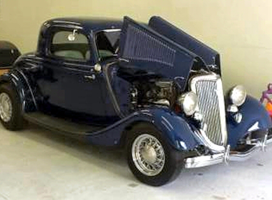 1934 Ford 3 Window Coupe Street Rod For Sale