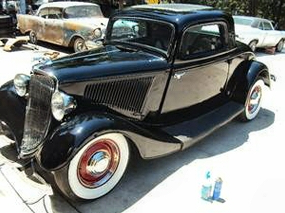 1934 ford rare 3 window coupe street rod for 1934 ford five window coupe for sale