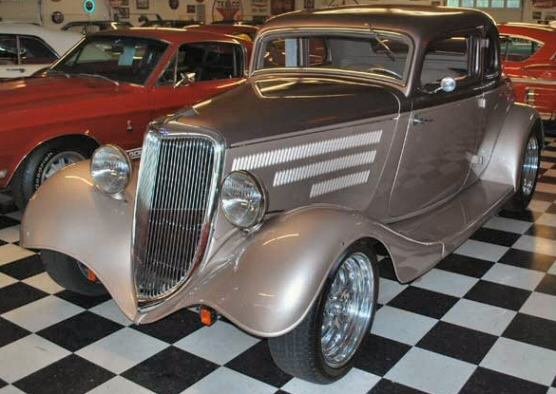 1934 ford 5 window coupe street rod for 1934 ford five window coupe for sale