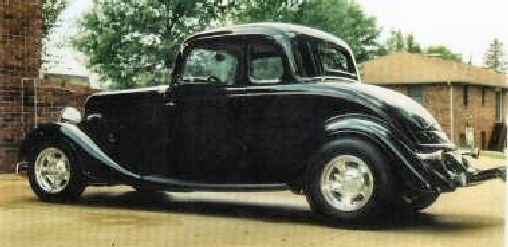 1934 Ford - 5 Window Coupe Street Rod
