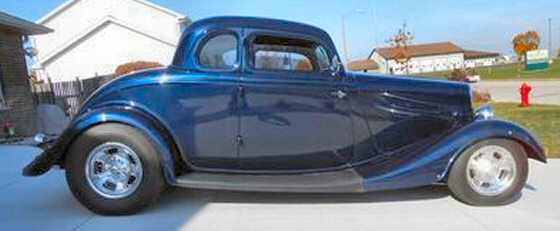 Photo of 1934 Ford 5 Window Coupe All Steel Street Rod