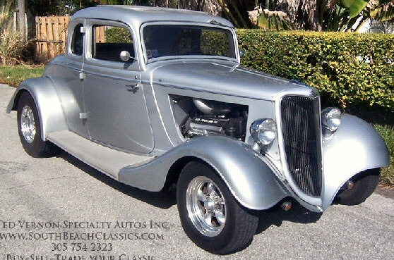 1934 Ford 5 Window Coupe Hot Rod