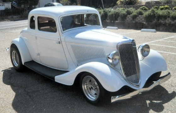 1934 ford 5 window coupe all steel street rod for 1934 ford 5 window coupe street rod